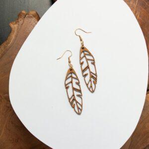 Boucles d'oreilles en bois pour femme Agartha7
